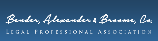 Bender, Alexander & Broome, Co. Tax Law Logo